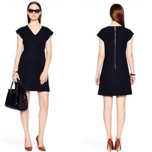 Kate Spade Ponte A Line Navy Dress